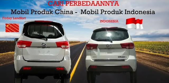 Heboh Karena Disebut Mirip dengan Mobil asal Tiongkok