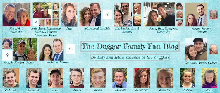 Duggar Family Blog: Duggar Updates | Duggar Pictures | Jim Bob and Michelle | Counting On | 19 Kids