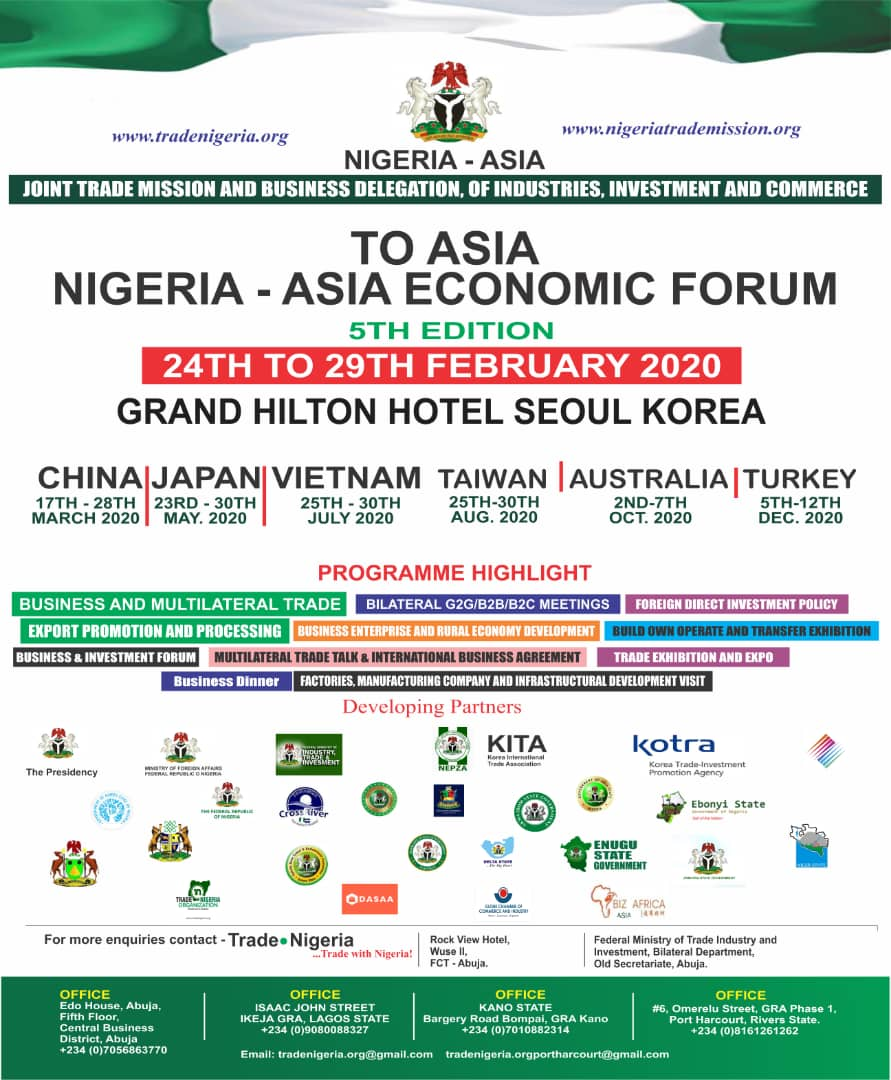 NIGERIA ASIA JOINT TRADE MISSION