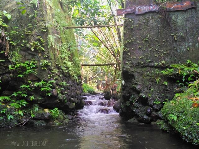 Monthet Sungai Desa Wisata Pancoh Sleman DIY