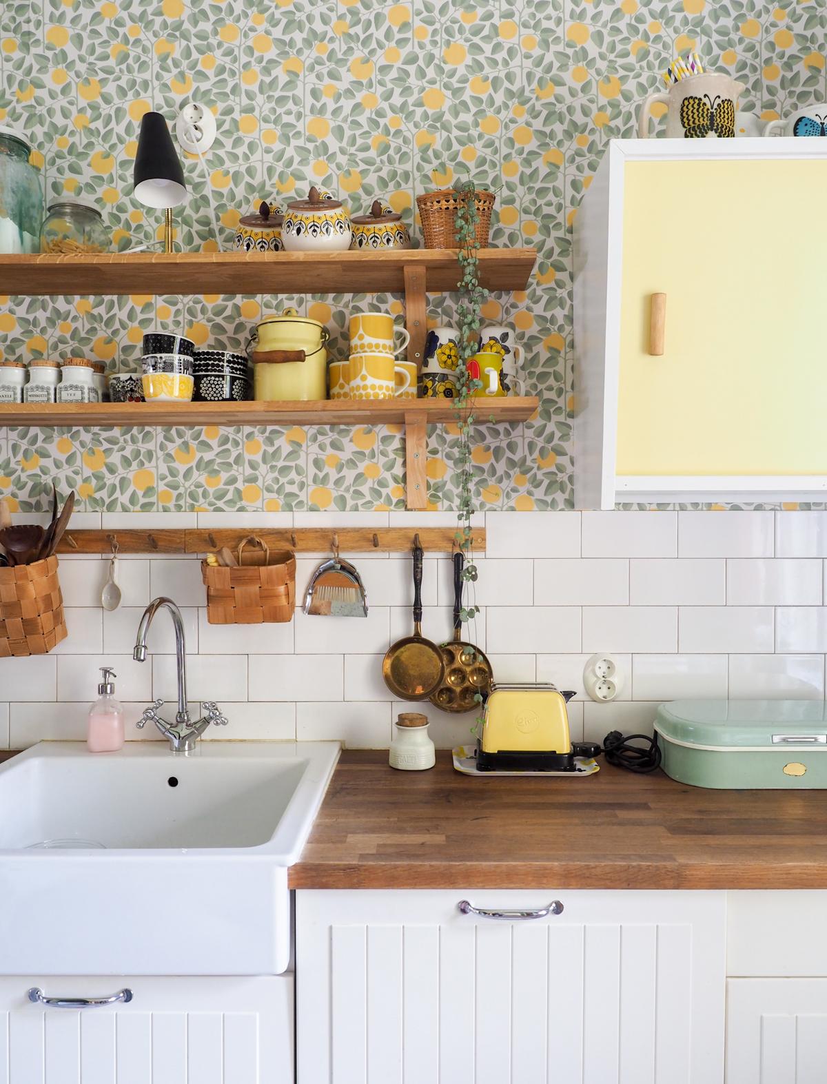 vintage keittiö