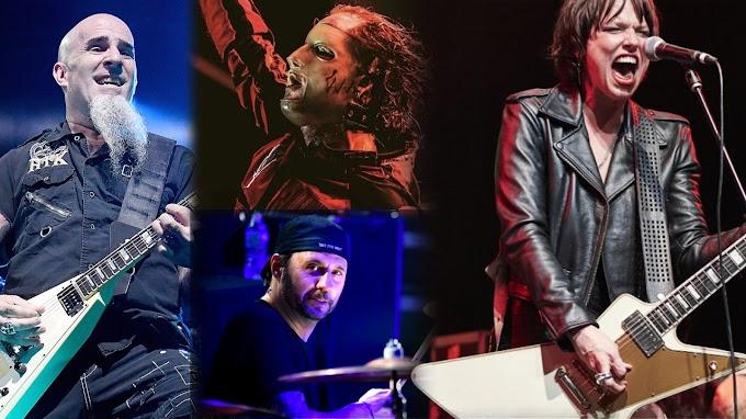 Scott Ian, Dave Lombardo, Corey Taylor y Lzzy Hale, unidos en una nueva canción