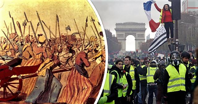 Γαλλία 2018: Ανάμεσα στην εξέγερση και το Διευθυντήριο