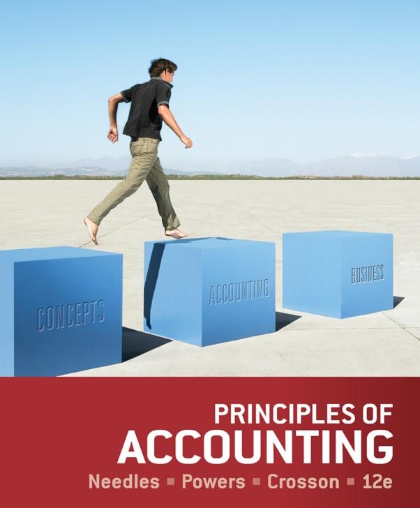 Principles of Accounting, 12th Edition