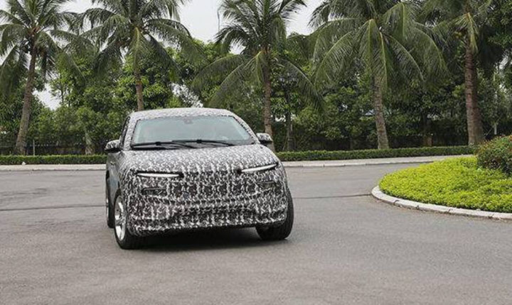Xuất hiện xe SUV mới của VinFast đang chạy thử nghiệm