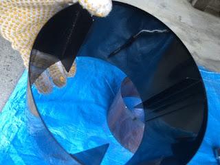ドラム内側汚れ
