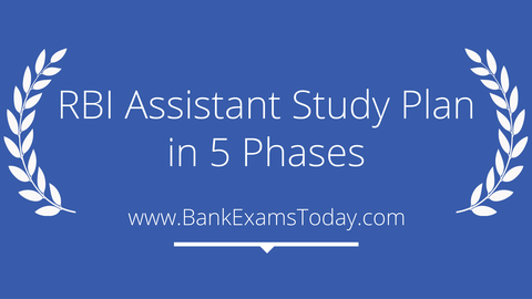 RBI Assistant study plan