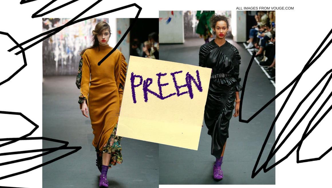 Preen by Thornton Bregazzi AW17