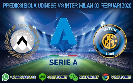 Prediksi Skor Udinese vs Inter Milan 03 Februari 2020