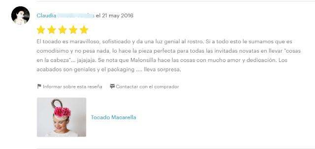 Opinión 5 estrellas de Claudia