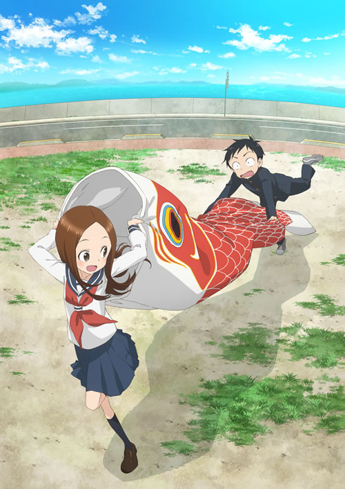Segunda temporada de Karakai Jozu no Takagi-san muestra su opening