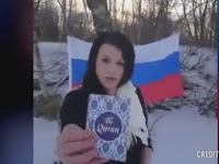 Keterlaluan! Wanita di Slovakia Ini Kencingi dan Bakar Al-Qur'an, Tapi Lihat yang Terjadi Selanjutnya