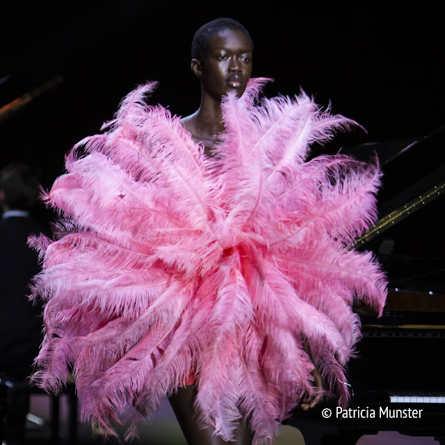 Pink feathers by David Laport SS2019