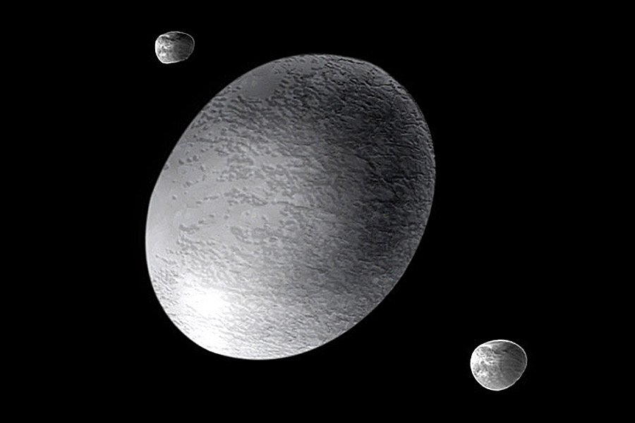 haumea with other planets - photo #5