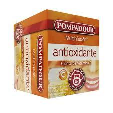 Infusiones pompadour antioxidantes