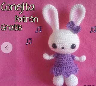 PATRON GRATIS CONEJA AMIGURUMI 45957