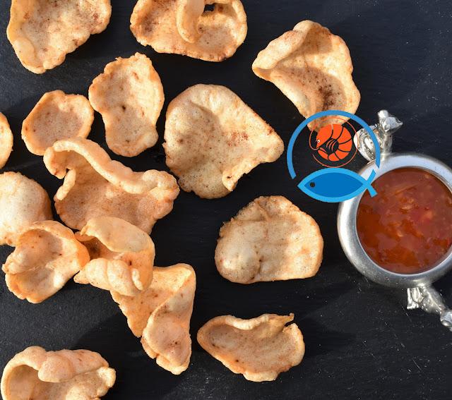 Bánh phồng cá 100% cá Thát Lát