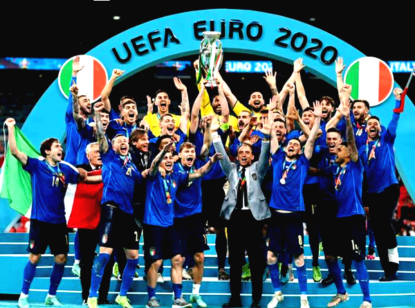 Italy emerge victorious in Euro 2020 finals