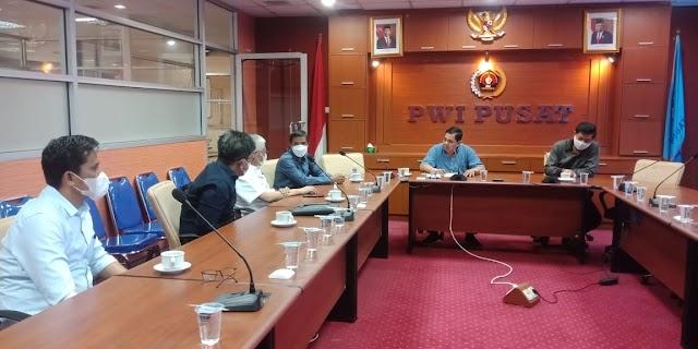 Ditetapkan Sebagai Tuan Rumah HPN 2022, Pemprov Sultra Koordinasi Dengan Pengurus PWI Pusat