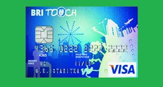 gambar Kartu Kredit BRI Touch Visa Silver