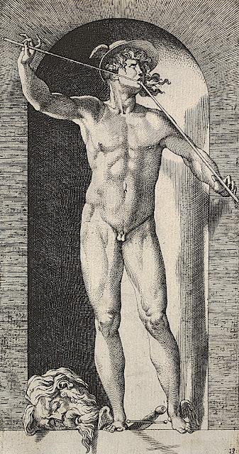 Giovanni Jacopo Caraglio: Mercurio