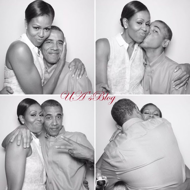 Barack Obama In Romantic Mood With Wife Michelle On Her 56th Birthday (Photos)