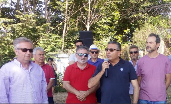 Δήμος Πηνειού: Αναρτήθηκε η Γαλάζια Σημαία στην παραλία της Γλύφας (photos)