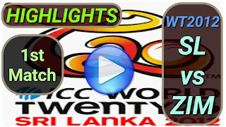 SL vs ZIM 1st Match