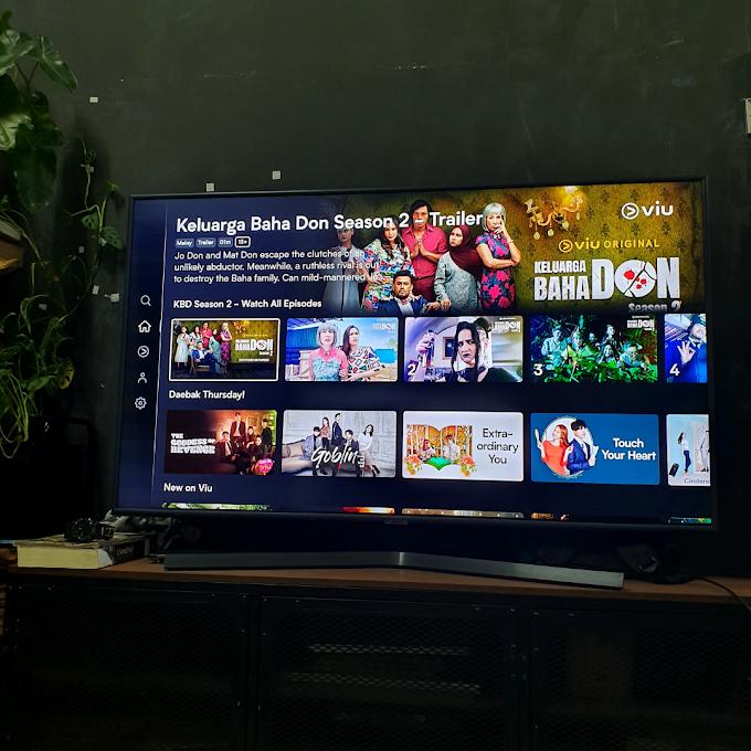 Cara Menonton Viu Melalui Smart TV (Pair Viu App To Smart TV)