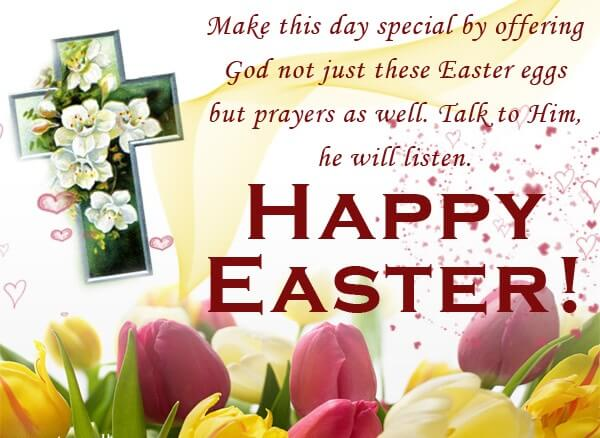 Happy Easter Wishes Message SMS Quotes Sayings Latest – Easter Greeting Card Sayings