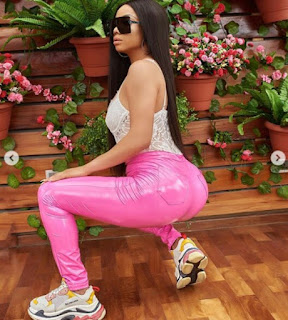 Toke Makinwa Shows Off Her Curvy Backside In New Photos