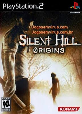 Capa do jogo Silent Hill Origins PS2 Site Jogo sem vírus.