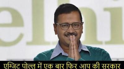 Exit poll ke hisab se fir Kejriwal ki sarkar