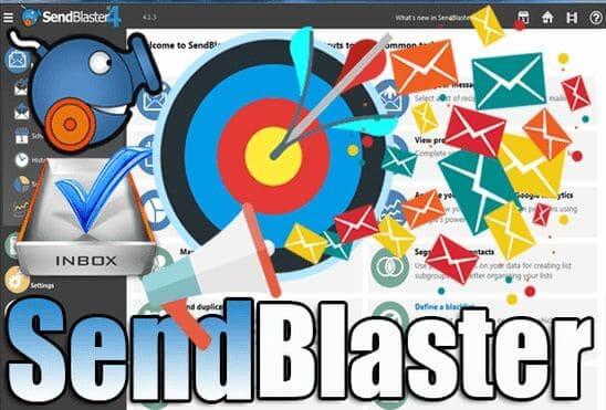 تحميل وتفعيل برنامج Sendblaster Pro عملاق إرسال الايميلات بلا حدود للتسويق الالكتروني