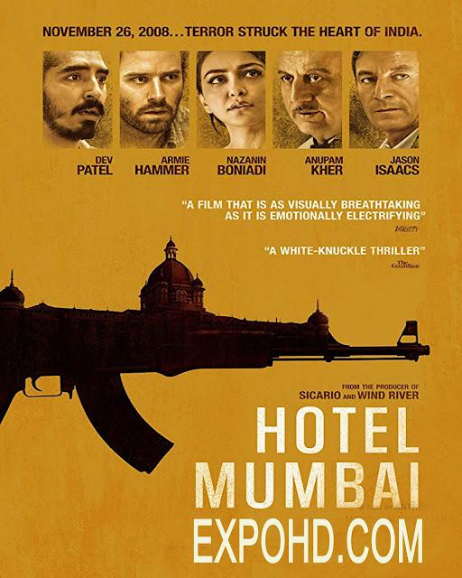 Hotel Mumbai 2019 IMDb 480p | Esub 1.2Gbs [HDRIP x265] Download | G.Drive