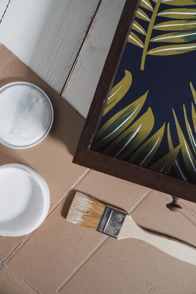 DIY : habiller l'intérieur de ses tiroirs avec du papier peint