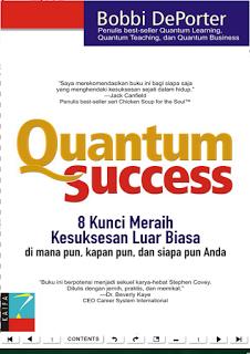 """Download Ebook Quantum Success """"8 kunci meraih kesuksesan luar biasa"""" by Bobbi Deporter"""