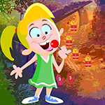 Play Games4king Lollipop Girl Rescue