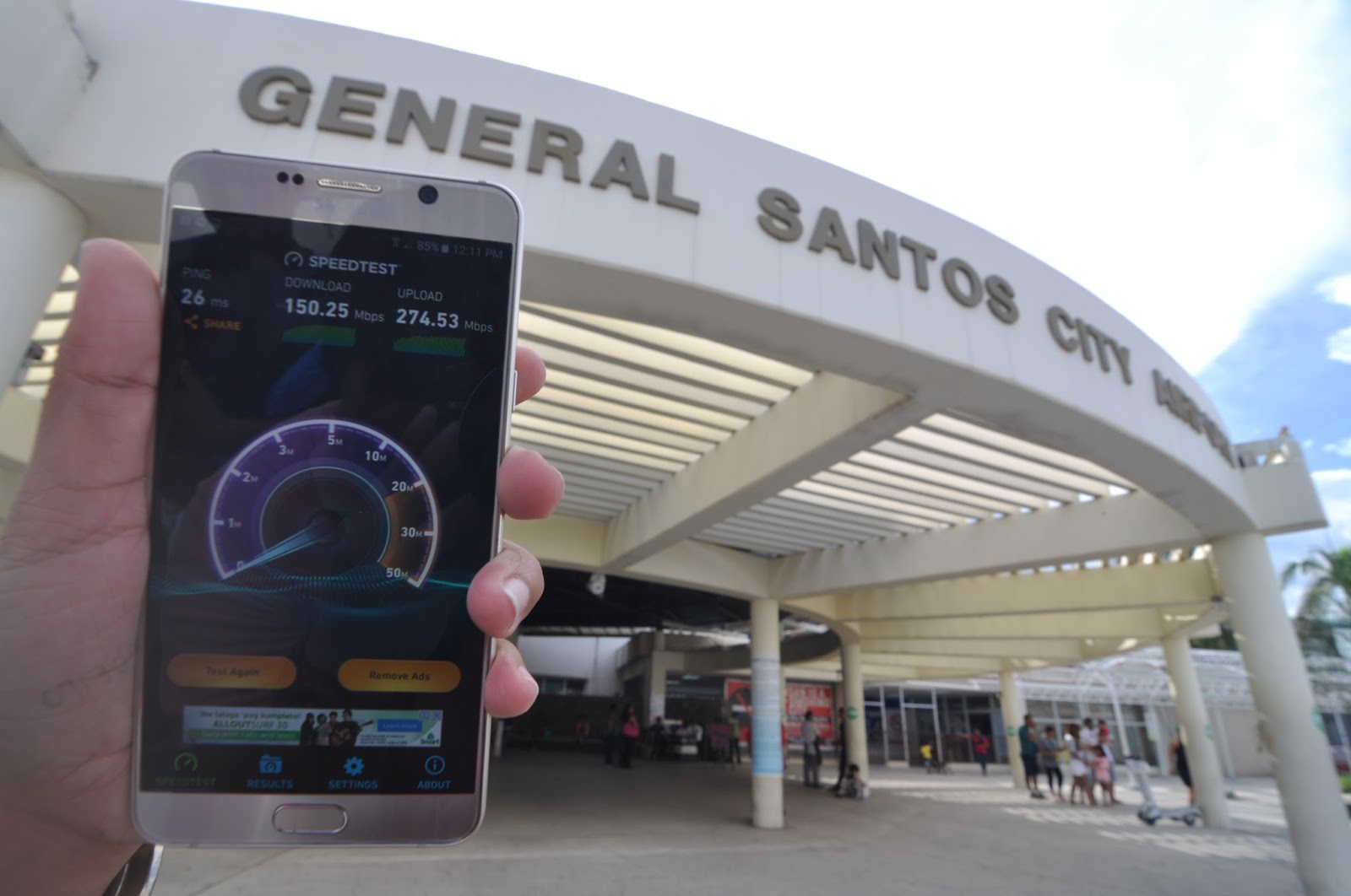 SMART and PLDT boost connectivity in General Santos Airport
