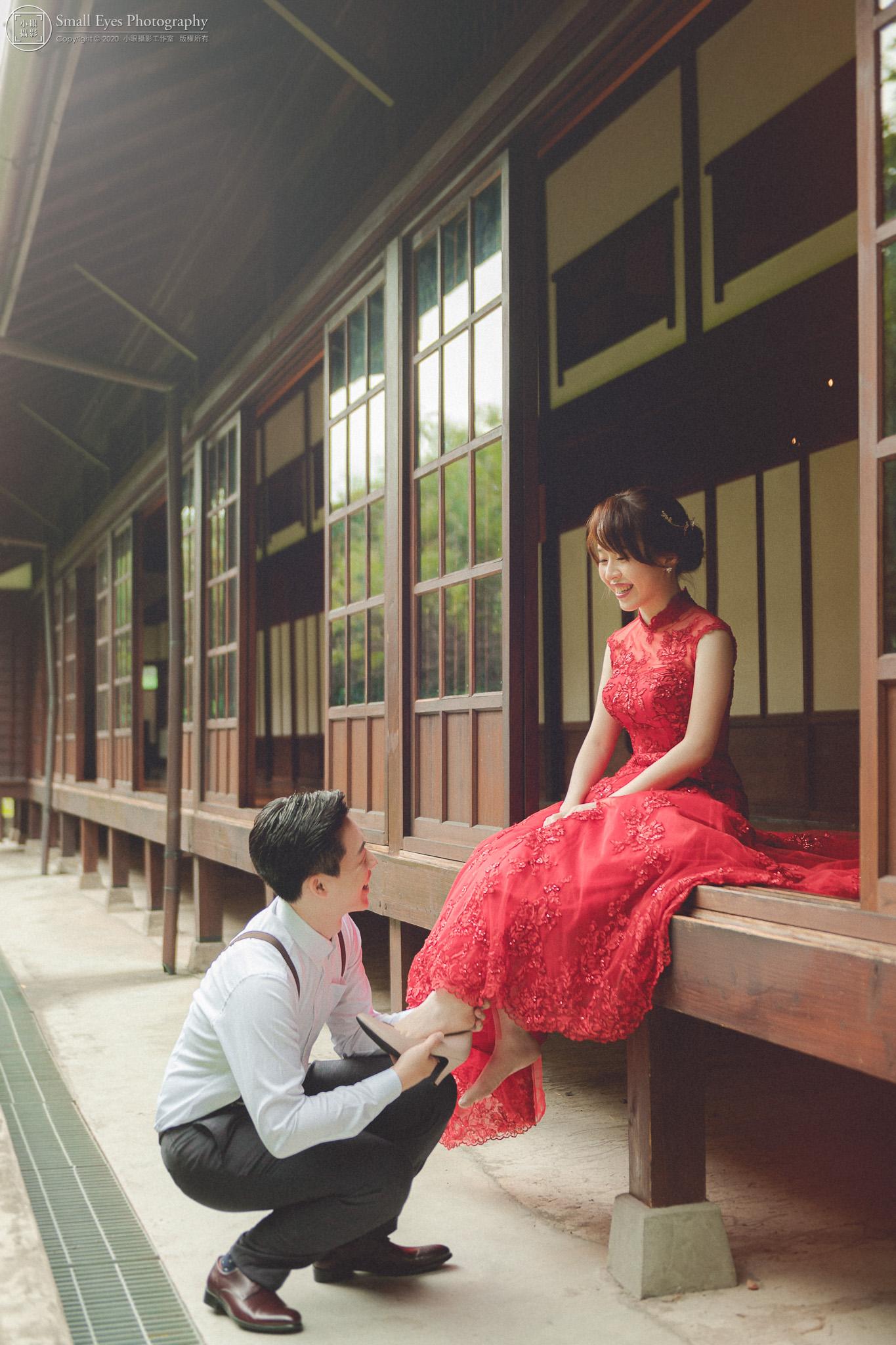 小眼攝影,自助婚紗,婚攝,婚紗攝影,新秘瓜瓜,吉兒婚紗,台灣,台北,中正區,紀州庵,古典