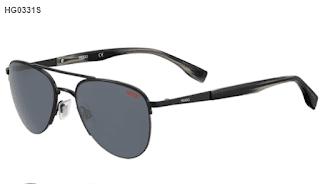 $36, Hugo Boss Sunglasses: Boss Men's Stylized Aviator