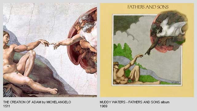 The-Creation-of-Adam-by-Michelangelo-Fathers-and-Sons-Album-by-Muddy-Waters