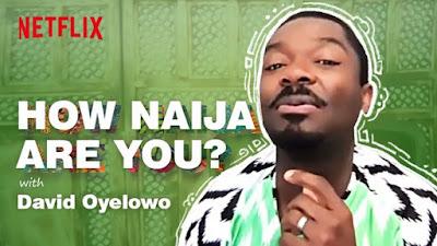David Oyelowo Netflix game How Naija are you