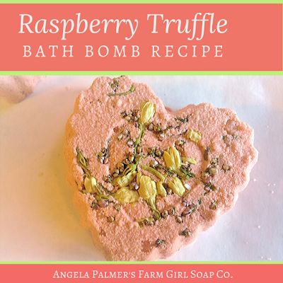 This lovely Raspberry Truffle DIY bath bomb recipe is as sweet looking as it is sweetly fragrant. Try the step-by-step tutorial to make these darling heart-shaped DIY bath bombs yourself.
