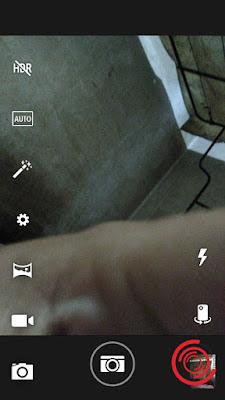 3. Jika sudah tidak aktif, silakan tekan tombol shutter dengan posisi flash aktif, pasti akan menyala