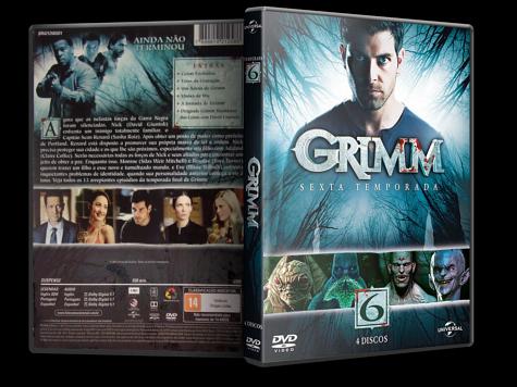 Capa DVD Grimm - 6ª Temporada [Custom]