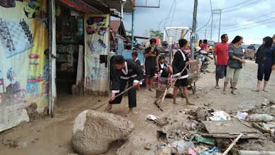 Panggilan Nurani, GSP Lutim Lakukan Penggalangan Dana untuk Korban Bencana Alam Masamba