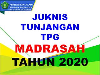 juknis tpg madrasah tahun 2020