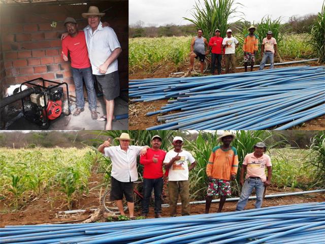 Vereador de Itaetê doa motor para melhoria em sistema de abastecimento de água