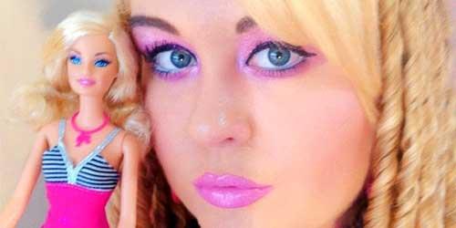 maquillar ojos como la barbie
